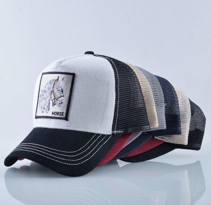 gorra de animales caballo